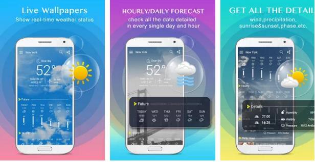how to get xc weather app