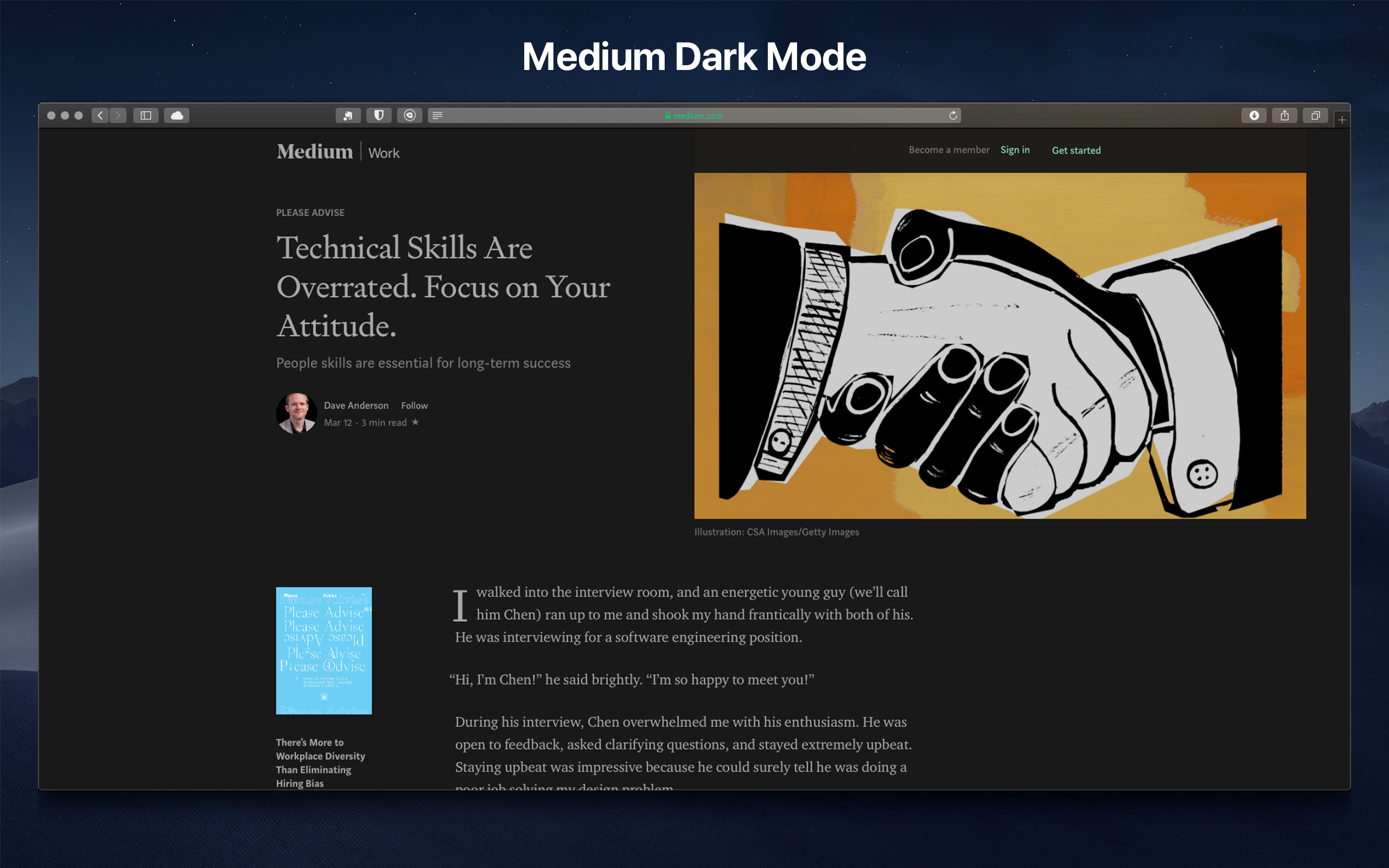 Medium_Night Eye - Dark mode extension