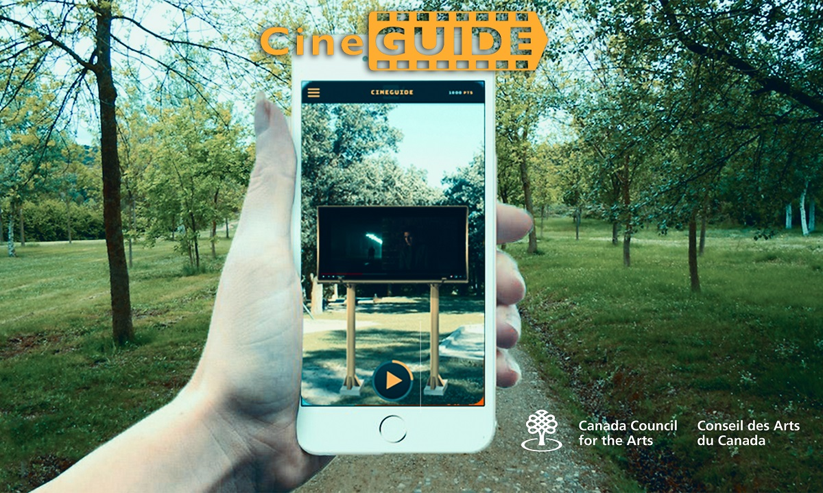 Cineguide - Mobile Augmented Reality App